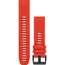 Garmin 010-12496-03 Quick Fit 22 Fenix 5 Red Silicone Watch Band